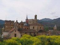 Vistas al Monasterio de Guadalupe en Cáceres.