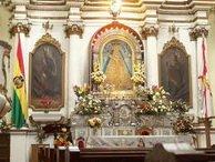 Virgen de Guadalupe, patrona de Hispanoamérica.
