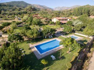 Casas Rurales con piscina en la Vera
