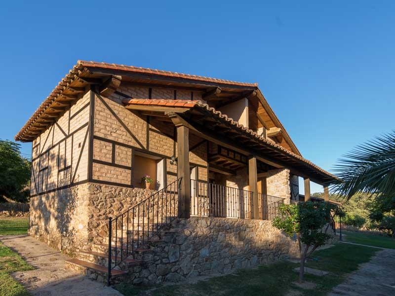 Casas rurales para cinco personas en Cáceres